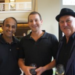 GM Jerry John,David Campion & Christopher Hogan at Cocktail Party