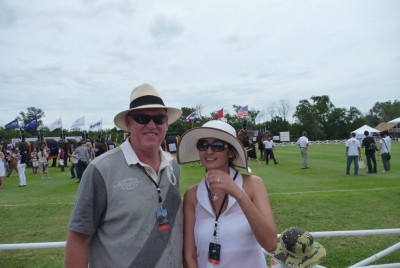 Christopher Hogan Artist in Residence @ Anantara Hua Hin for King's Cup Elephant Polo 2011