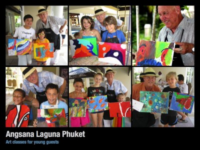 Angsana Laguna Phuket- Art Classes for young guests