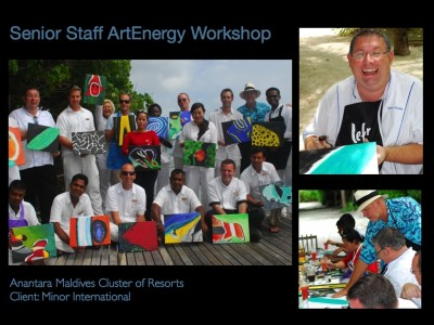 Senior Staff ArtEnergy Workshop